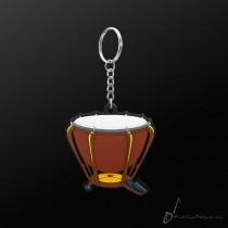 Instrument Keyring Timpani