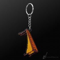Instrument Keyring Marimba