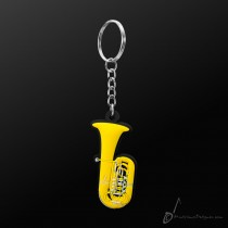 Instrument Keyring Tuba