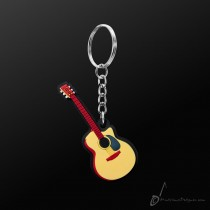 Instrument Keyring Acoustic Guitar