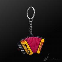 Instrument Keyring Button Accordion