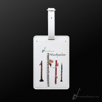 Luggage Tag Woodpecker
