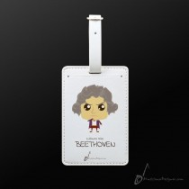 Luggage Tag Beethoven