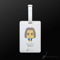 Luggage Tag Bach