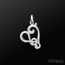 Sterling Silver Pendant Harmony M