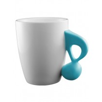 Music Mug with Quaver Handle (blue)